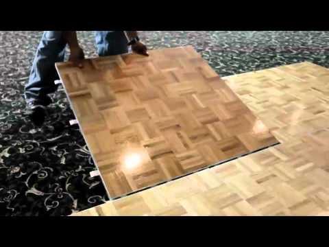 how to make a cheap dance floor