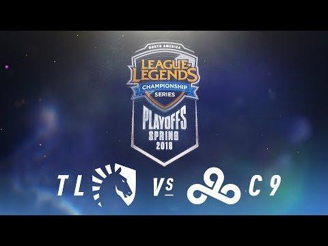 TL vs. C9  | NA LCS Spring Playoffs | Quarterfinals Game 1 | Team Liquid vs. Cloud9 (2018)
