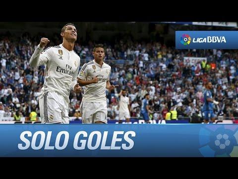 Todos los goles de Real Madrid (7-3) Getafe CF