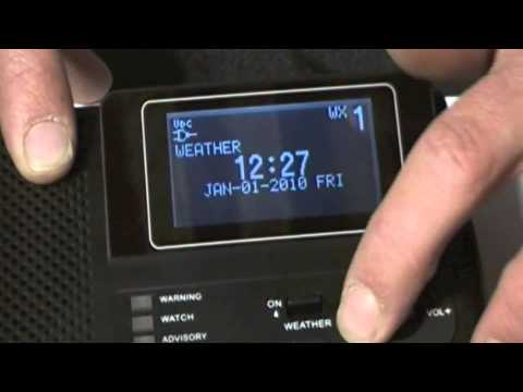 Product Review - Sangean CL-100 Weather Radio - Part 2
