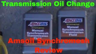 Jeep JK Manual Transmission Oil Change NSG370- Amsoil Synchromesh Review