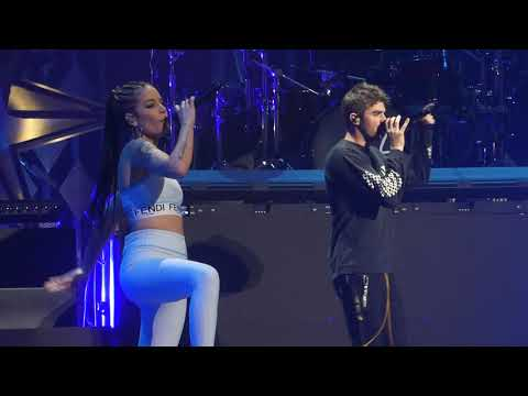 """Closer"" The Chainsmokers & Halsey@Wells Fargo Center Philadelphia 12/6/17 Jingle Ball"