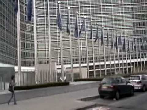 Brussels, Belgium - Headquarters of the European Commission