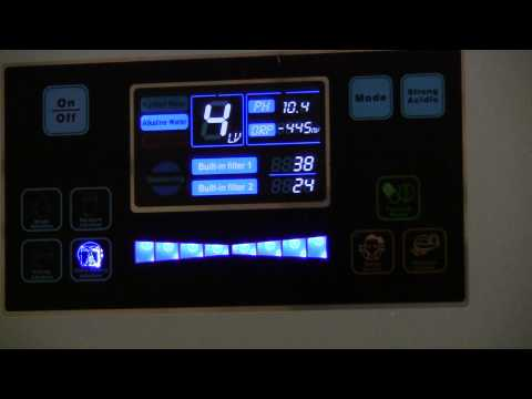 Bawell Alkaline Ionized Water Ionizer Videos