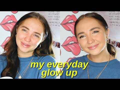 how to glow up   my 10 minute makeup routine