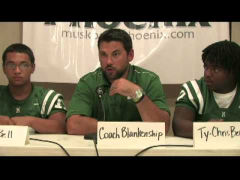 Muskogee High School football team season preview