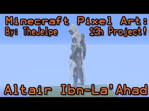 Minecraft Pixel Art Building