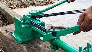 Bàn bẻ mỏ và bẻ đai sắt thép xây dựng 2 trong 1 bẻ 3 đai một lần | THIẾT BỊ CÔNG TRÌNH