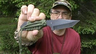 My New Survival Neck Knife - Review and Mods -