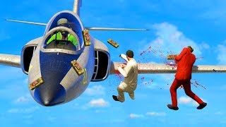 DODGE THE 200MPH PLANES! (GTA 5 Funny Moments)