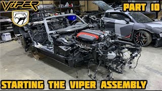 Rebuilding a Wrecked 2017 Dodge Viper Part 10