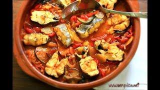 Riba sa povrćem - Sočna i ukusna - Posni recept