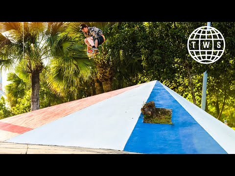 AriZona Iced Tea Piña Colada Tour Full Length | Skateboarding in The Dominican Republic