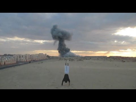 After Banksy: the parkour guide to Gaza | Guardian Docs