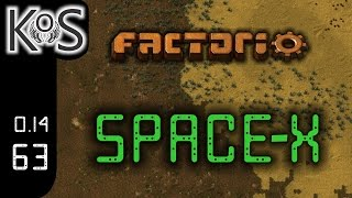 Factorio 0.14 Space-X Mod, Ep 63: Science Speed Buff - Let's Play, Gameplay