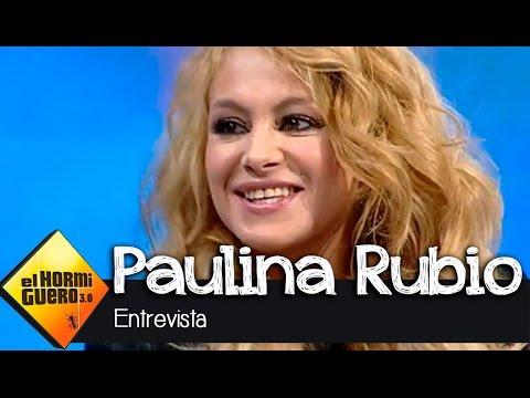 Paulina Rubio en El Hormiguero 3.0: