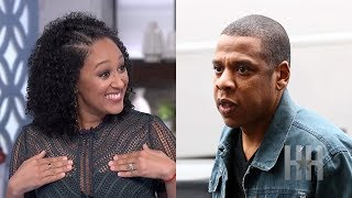 "The BeyHive Swarms Tamera Mowry For Being ""Charmed"" By Jay Z"