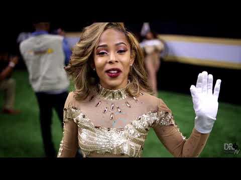 "Southern University Fabulous Dancing Dolls Highlights ""Bayou Classic"" (2017)"