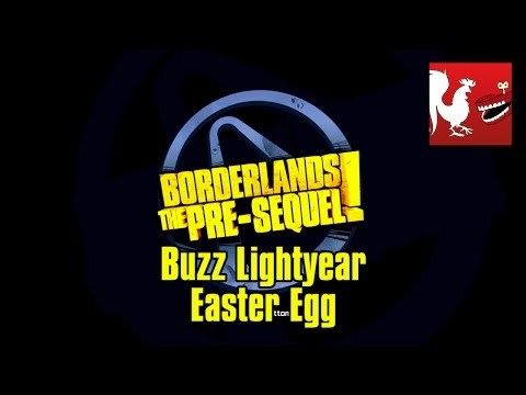 Borderlands The Pre-Sequel - Buzz Lightyear Easter Egg