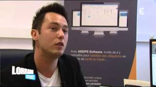 France 3 Lorraine Matin: Christophe Schmitt et Assipe Software