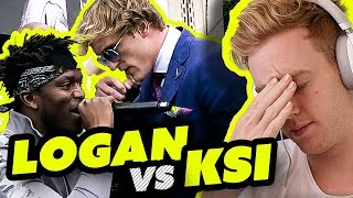 KSI VS LOGAN PAUL PRESS CONFERENCE *REACTION*