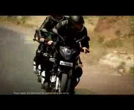 Pulsar 220 Commercial video