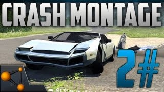 BeamNG DRIVE Revolutionary Soft-Body Physics Car Crashes 2# [HD]