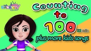 Counting to 100 | + More Nursery Rhymes & Kids Songs | Cartoons for Kids