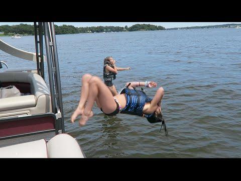 ACRO Gymnastics SLIME CHALLENGE!! | The Rybka Twins