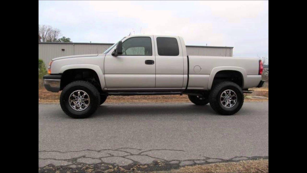 silverado lifted 2004 1500 chevrolet truck lt