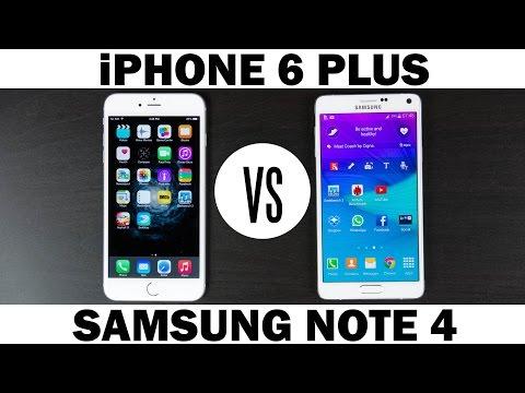 iPhone 6 Plus vs Samsung Galaxy Note 4 Full In-Depth Comparison