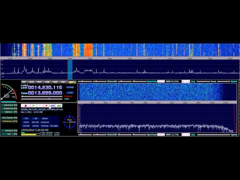 HF and Software Defined Radio: HDSDR + USRP + GNU Radio + RFMap