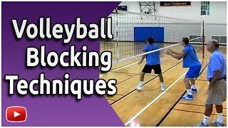 Volleyball - Blocking Skills and Drills - Coach Al Scates