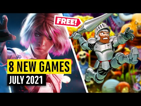 8 New Games July (2 FREE GAMES)