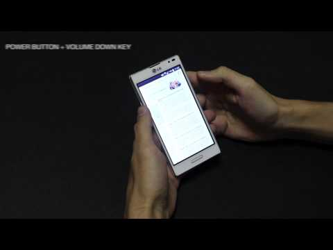 How to Take a Screenshot on LG Optimus L9