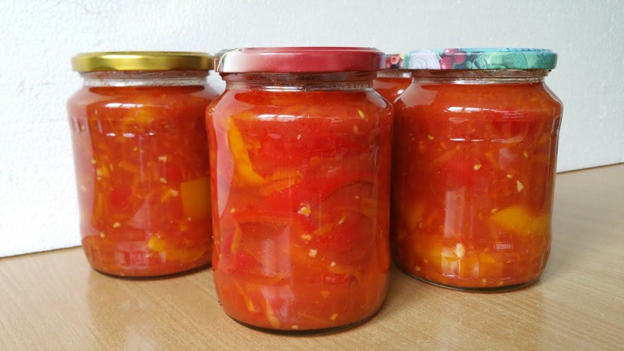 Лечо рецепт на зиму с морковкой и луком