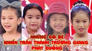 Những cô bé hài hước hết phần thiên hạ khiến Trấn Thành, Trường Giang chỉ muốn bắt về nuôi | FAST TV