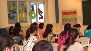 Đình Khoa chia sẻ với GV Mầm non Ban Mai về truyền thông cơ bản ở lớp học