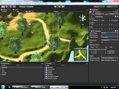 Creating a Basic MiniMap in Unity 3D - Part1
