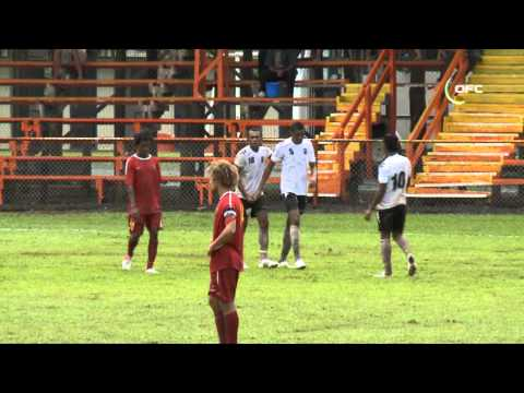 2013 OFC U 20 Championship Day 5 Papau New Guinea vs Fiji Highlights