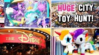 HUGE CITY TOY HUNT! My Little Pony, Disney, Shopkins, Pokemon and More!