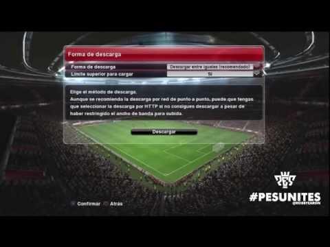 #PES2014 Actualización y DLC (descargando en PS3)