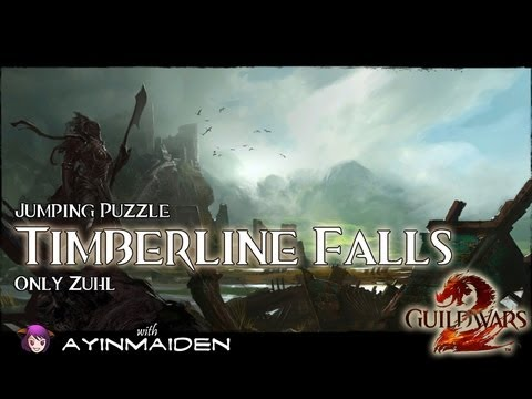 ★ Guild Wars 2 ★ - Jumping Puzzle - Timberline Falls (Only Zuhl)