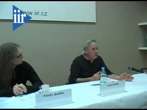 A Case for One State Solution in Israel/Palestine - Ilan Pappe and Pavel Barša