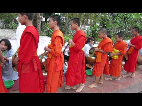 video monk Laos