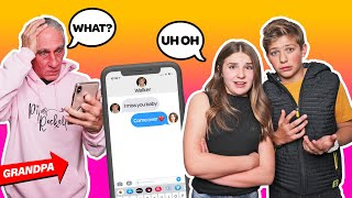 MY CRUSH REACTS To My FUNNIEST Texts CHALLENGE **HE GOT MAD**📱💞| Piper Rockelle