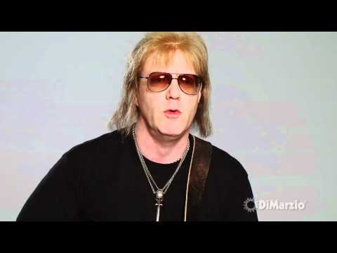 Jay Jay French, Twisted Sister, and Jay Jay's DiMarzio® gear