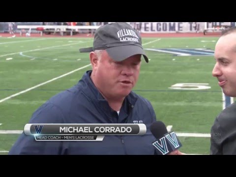 Villanova Men's Lacrosse: April 30, 2016 - Post-Game Interview with Coach Corrado
