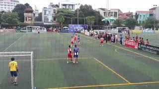 Đánh Nhau sân bóng đá LÀO CAI giữa FC DU LỊCH vs FC 24 Cúp Đền Thượng 2019