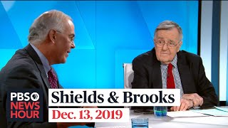Shields and Brooks on articles of impeachment, FBI's Russia mistakes